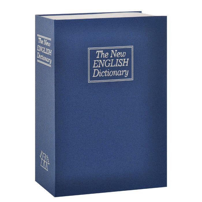 Сейф-книга «Английский словарь» ( синий)