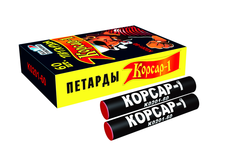 Петарда терочная Корсар-1 (60 шт.)