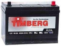 Аккумулятор автомобильный Timberg Asia 90 А/ч 850 A обр. пол. Азия авто (306x172x225) с бортиком