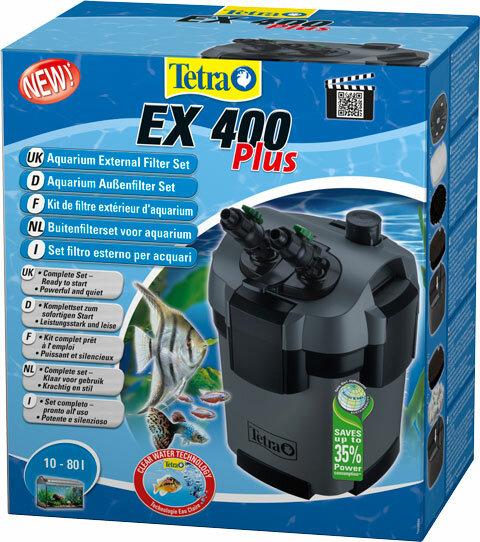 Внешний фильтр TETRA EX 400 PLUS, для аквариумов объемом до 80 л (1 шт)
