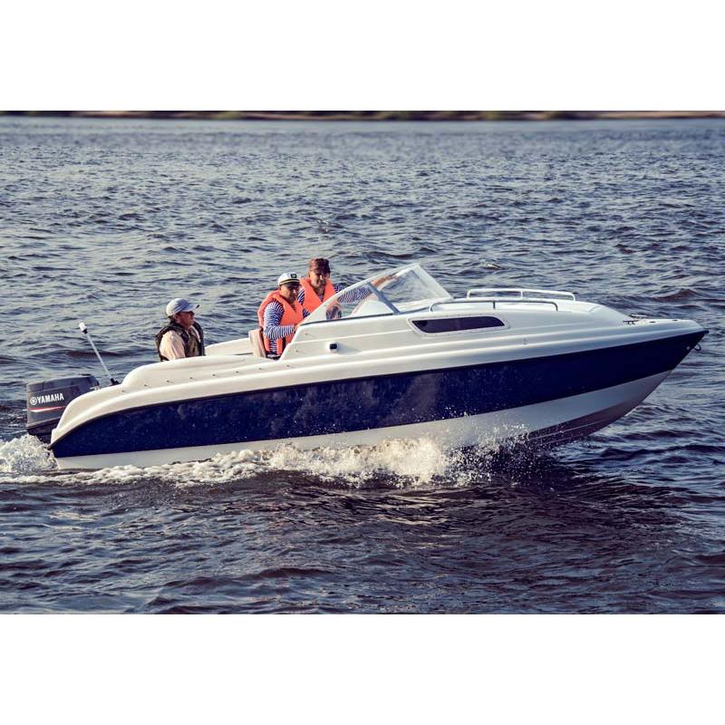 Катер Wyatboat Неман стеклопластиковый 550