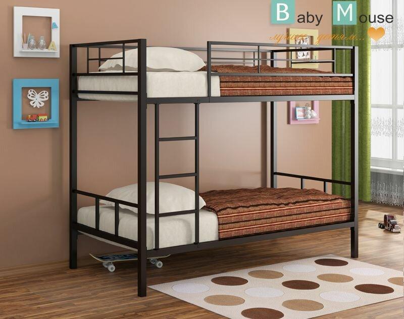 Детская мебель, Фабрики. Модульная мебель., Детская мебель фабрики Формула Мебели, Металлические кровати Фабрика Формула Мебели Металлическая двухъярусная кровать
