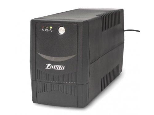 Источник бесперебойного питания PowerMan Back Pro Plus 800 BA (интерактивный, 2 розетки, USB)