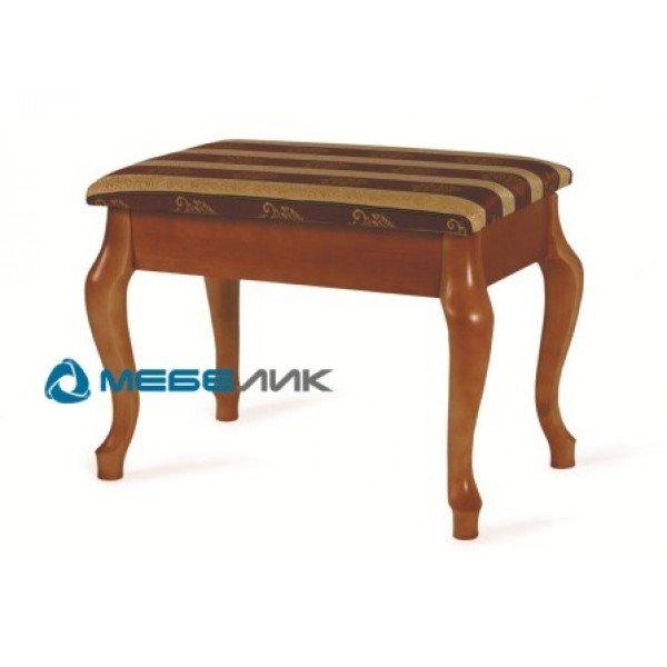 Банкетка Ретро Mebelik, Цвет Cредне-коричневый
