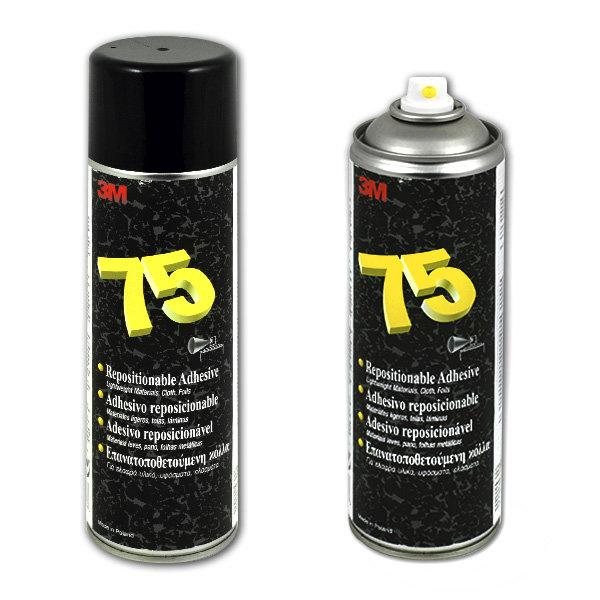 Клей-спрей 3M scotch-weld 75 для временной фиксации, аэрозоль, 500 мл 3м 42447/75