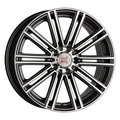 Колесные диски 1000 Miglia MM1005 8x18/5x112 D66,6 ET35 (Dark Anthracite Polished) - фото 1
