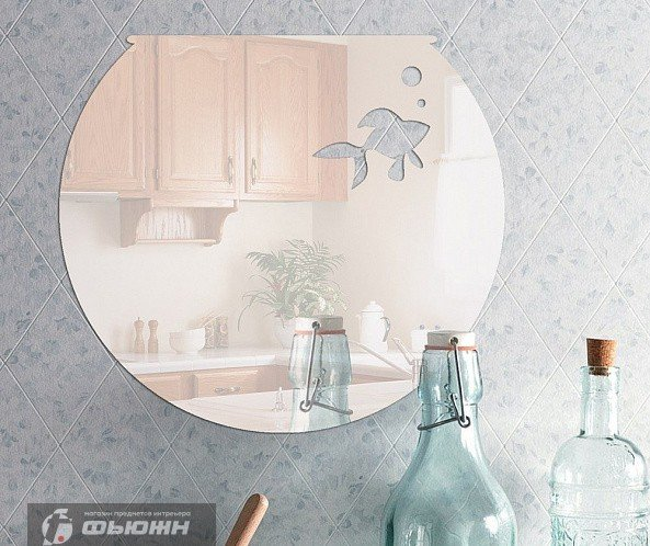 Акриловое зеркало Аквариум