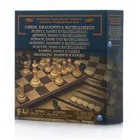 Настольная игра Paw Patrol (Щенячий Патруль) Spin Master 6038107 Настольная игра 3-в-1 (шахматы, шашки, нарды)