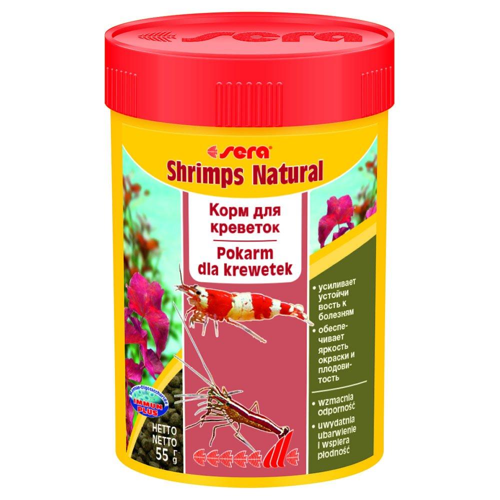 Корм Sera Shrimps Natural для креветок (55 г)