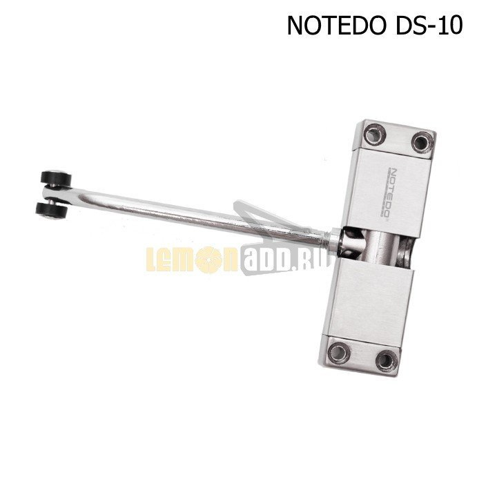 Доводчик NOTEDO DS-10 (односкоростной пружинный дверной доводчик для дверей до 30 кг)