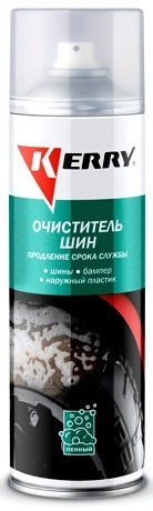 KERRY Очиститель шин пенный 0,650л