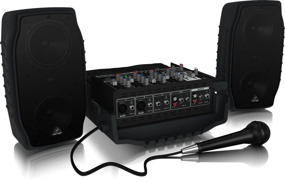 Behringer PPA200 - 5-канальная портативная система звукоусиления, 200 Вт