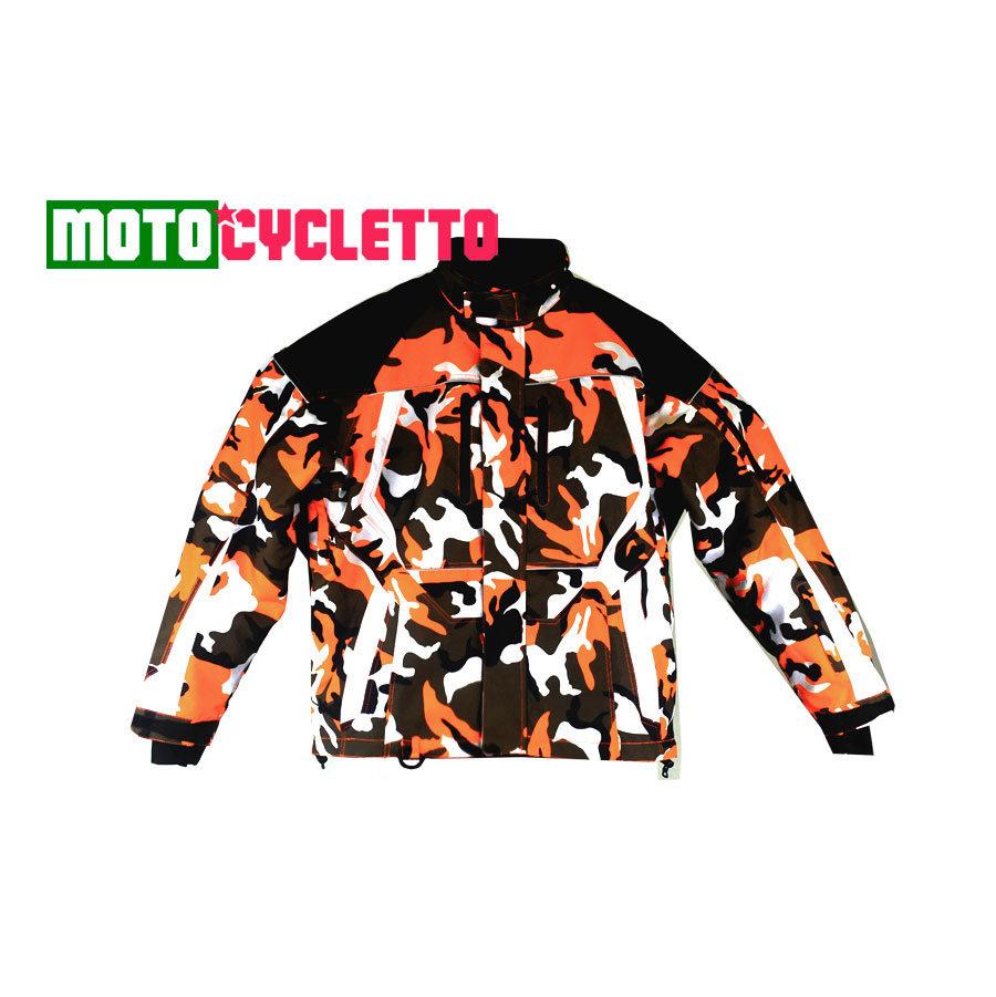 Motocycletto Куртка Camo Orange снегоходная мужская