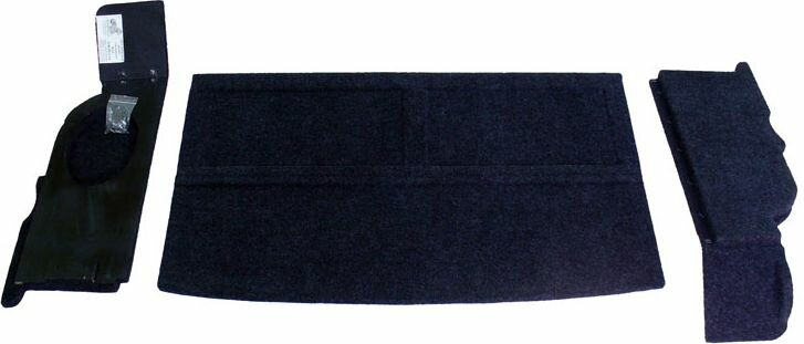 Полка в авто АвтоБлюз для ВАЗ 2109, 2114, ПЛ01258, с боковинами