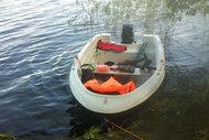 Лодка виза-яхт Легант-350 (с подуключиной и веслами) (155557)