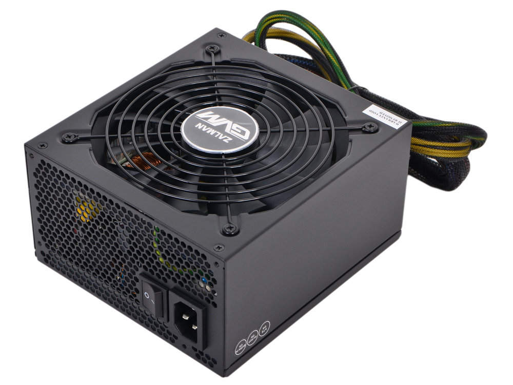 Блок питания Zalman 850W ZM850-GVM v2.3, A.PFC, 80 Plus Bronze, Fan 12 cm, Modular, Retail