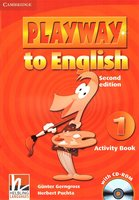 "Gunter Gerngross, Herbert Puchta ""Playway to English 1 Activity Book + CD-ROM / Рабочая тетрадь"""