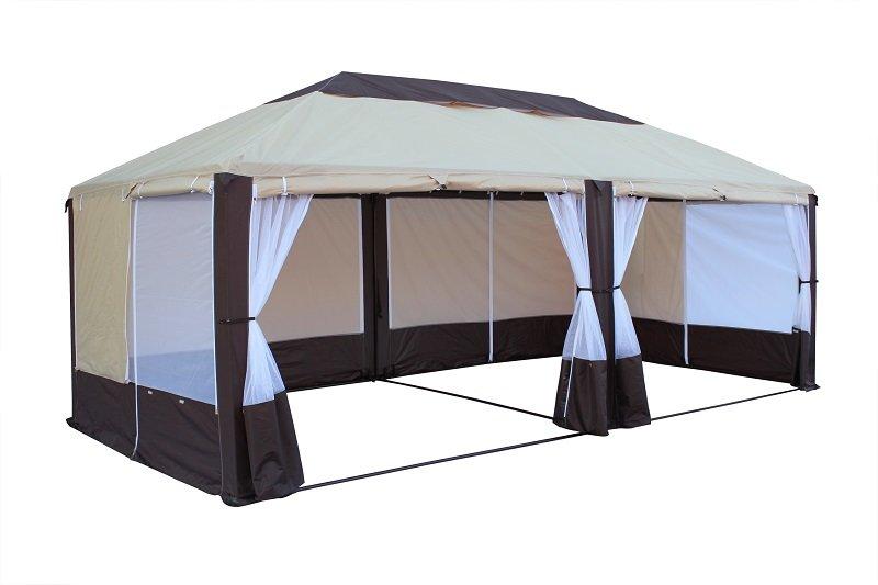 Митек Тент туристический Пикник-Элит 6,0х3,0 со стенками