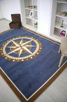 Люберецкие ковры Ковер Морской роза ветров 0.8x1.1 м.