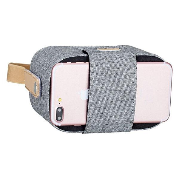 """Очки виртуальной реальности Momax Stylish VR Box Grey для смартфонов 4.7-5.7"""" серые"""