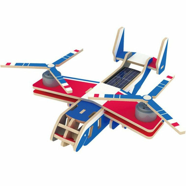 Пазл Robotime Вертолет-самолет Bell V-22 OSPREY 20 шт.