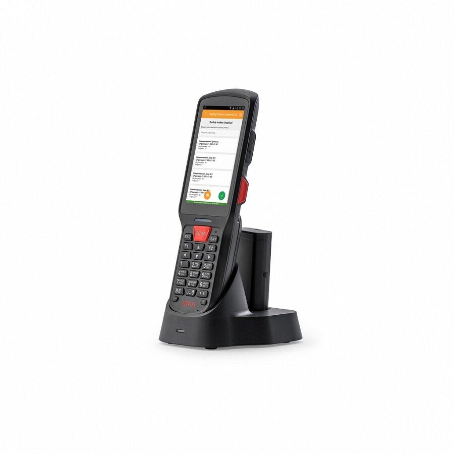 "Мобильный терминал АТОЛ SMART.Lite (Android 7.0, 2DImager SE4710, 4"",2Гбх16Гб, Wi-Fi,5200 mAh,Bluetooth,БП) + ПО DataMobile, версия Стандарт Pro ЕГАИС"