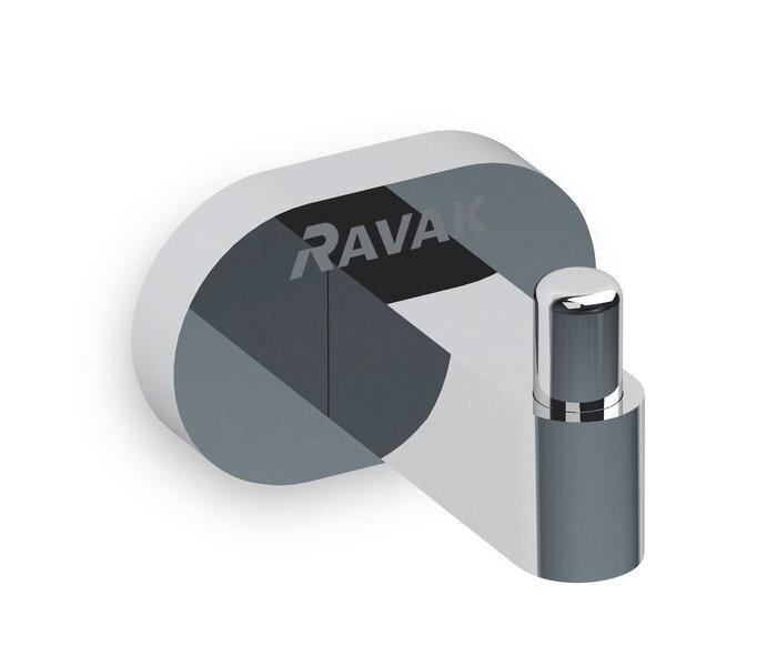 Крючок Ravak Chrome CR 110.00 одинарный X07P320