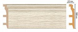 Плинтус напольный из полистирола Декомастер D232-1070 (100*22*2400мм)
