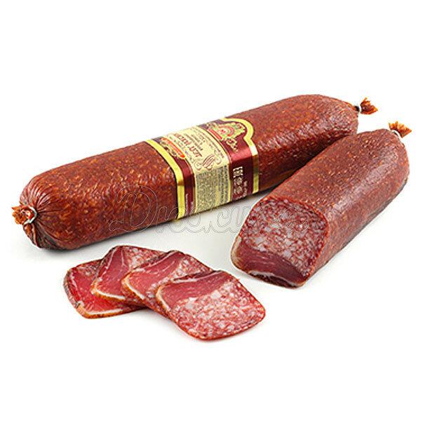 Колбаса Мясной Дуэт оригинальная сырокопченая 1 кг