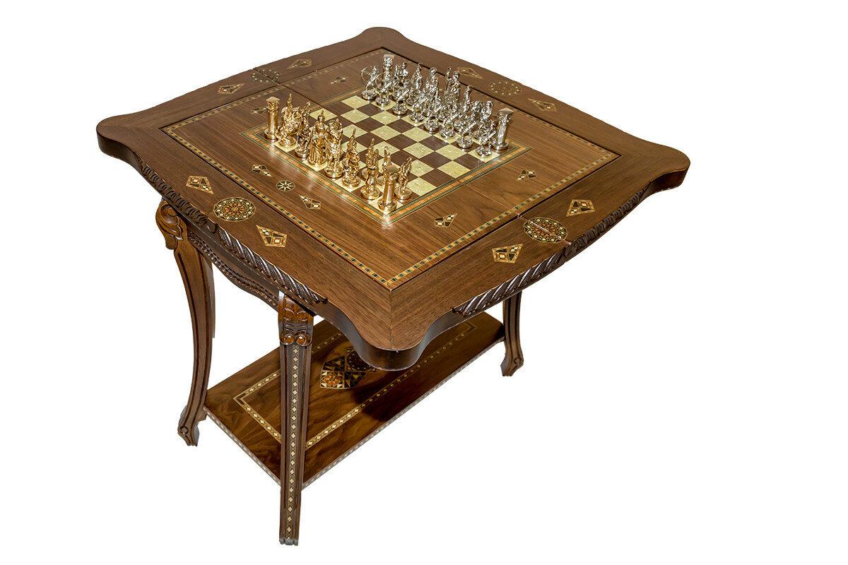 """Стол """"Альтер эго"""" для игры в шахматы, шашки, нарды, карты"""