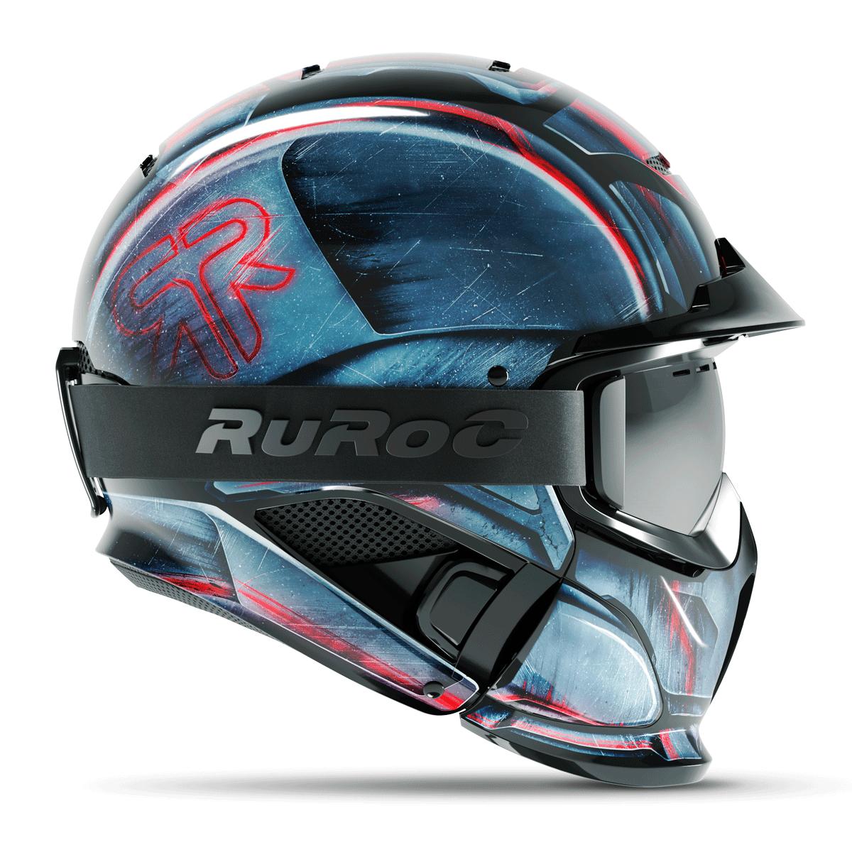 Шлем Ruroc RG1-Dx Machine