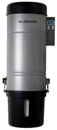 Встроенный пылесос Blizzard Compact 600DE (Siemens motor) (200м2)