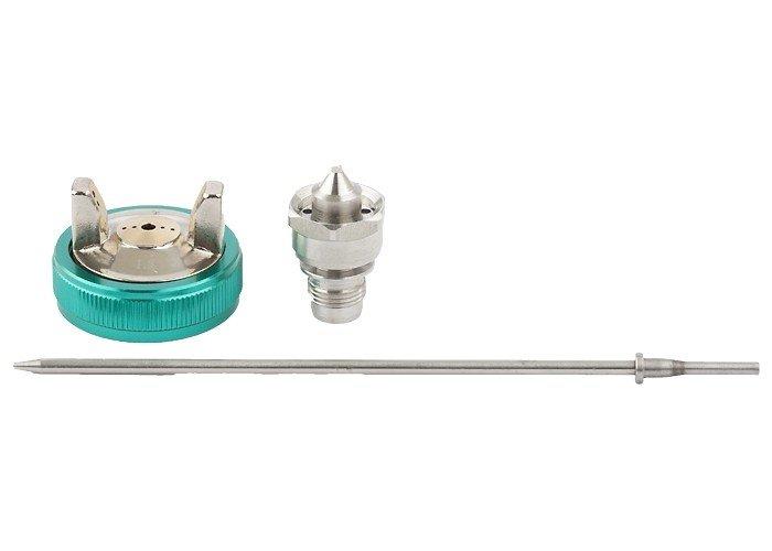 """Набор """"Stels"""" для краскораспылителя AG970LVLP: сопло 1,0 мм, игла, чашка"""