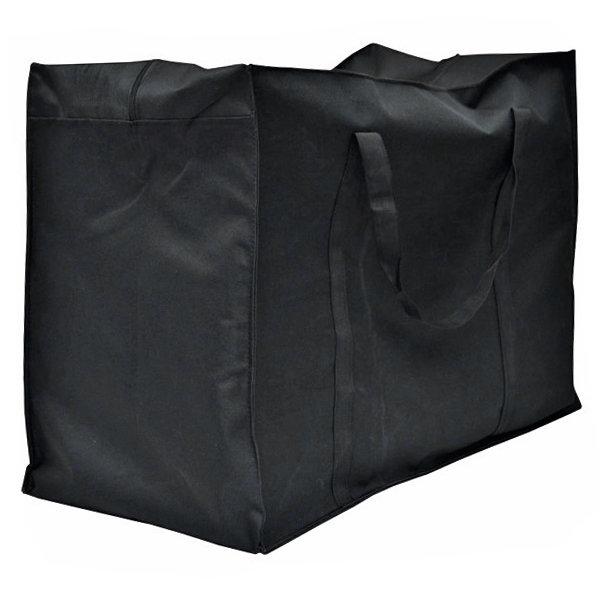 Хозяйственная сумка тканевая черная №70 - 59*29*46 см