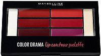Палетка помад для губ Maybelline New York Color Drama Color Contour Red