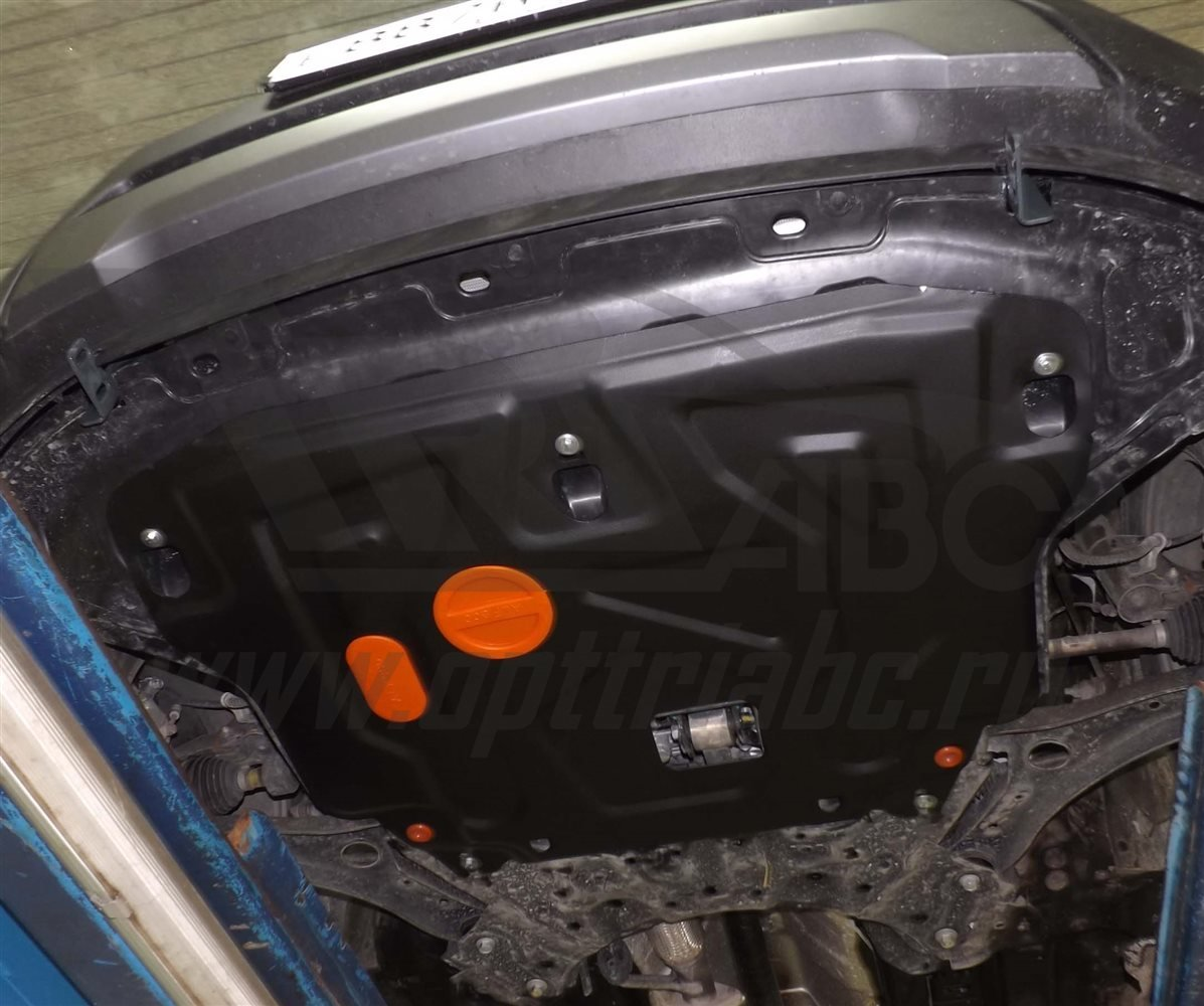 Защита картера двигателя, КПП Hyundai Creta (2016-) Хендай Крета (сталь 2 мм)
