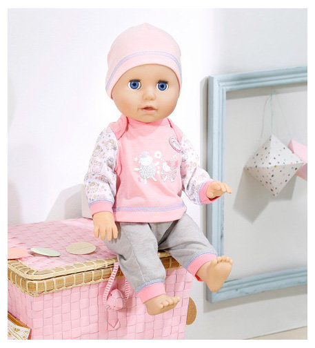 Zapf Creation Baby Annabell 700-136 Бэби Аннабель Кукла Учимся ходить, 43 см