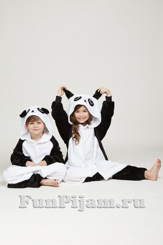 Детские пижамы кигуруми Панда - купить в Москве по выгодной цене ab4534ec055d7