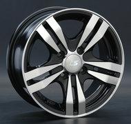 Диск LS Wheels 142 6,5x15 4/114,3 ET40 D73,1 BKF - фото 1
