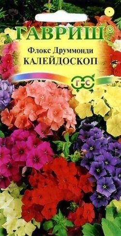 """Семена. Флокс друммонди """"Калейдоскоп"""", смесь (вес: 0,1 г)"""