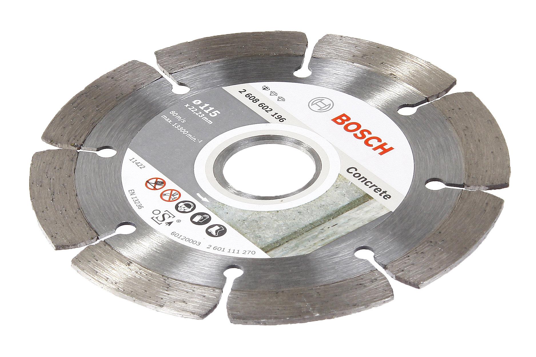 Круг алмазный Bosch Standard for concrete 230x22,2 сегмент (2.608.602.200)