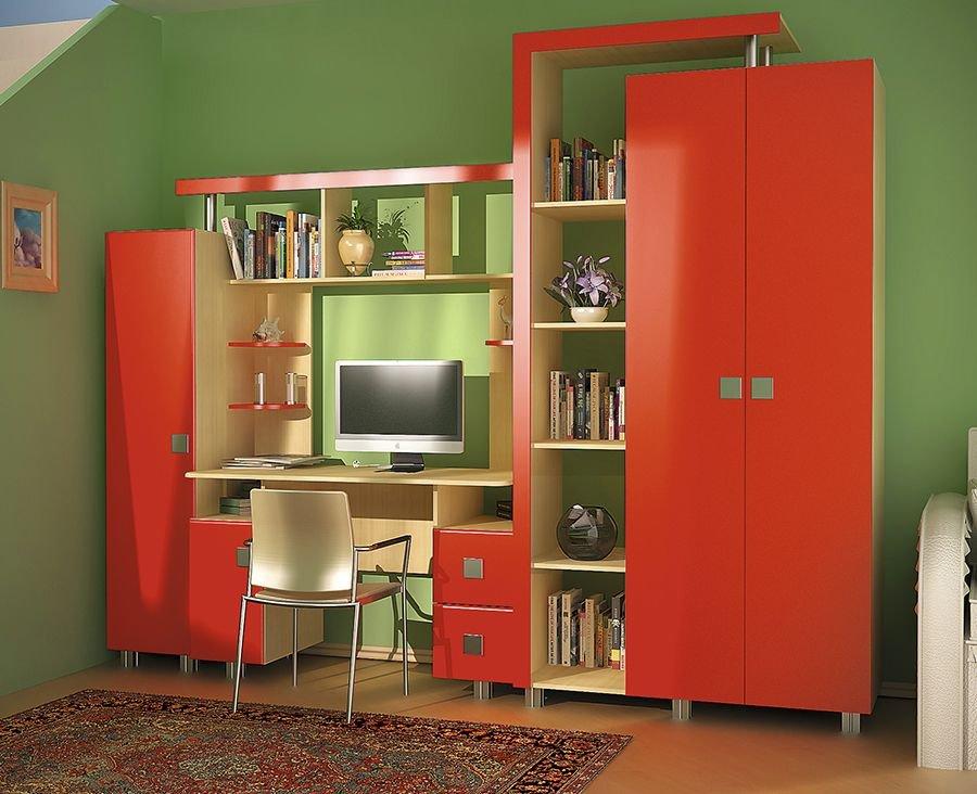 Детская комната «Vitamin O» Красный