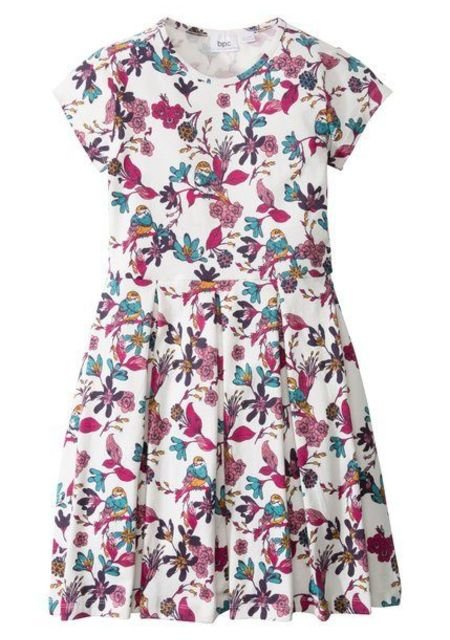 Платье с принтом бонприкс