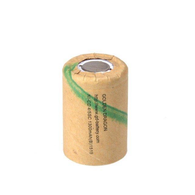 Аккумулятор Golden Dragon 4/5SC, Ni-Cd 1.2V 1300mAh