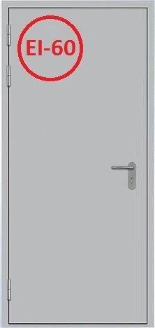 Дверь противопожарная однопольная ДМП-01 ei-60