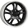 Диск American Racing AR393 8.5x20 5*114.3 ET35 d72.6 Black/Machined - фото 1