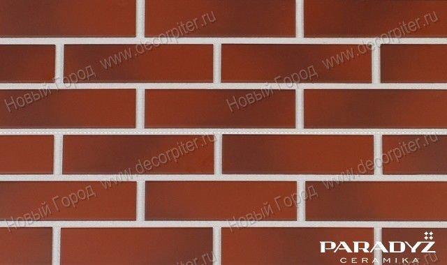 Клинкерная фасадная плитка под кирпич Paradyz Cloud Rosa 245*7.4*66 мм.