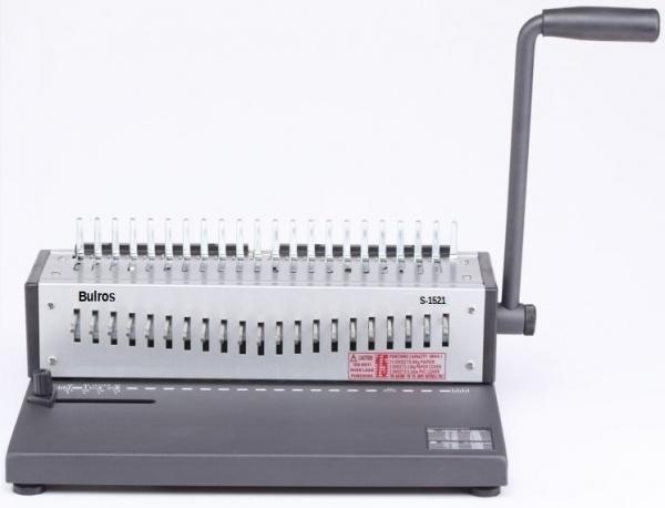 Брошюровщик (брошюровочная машина) Bulros S-1521