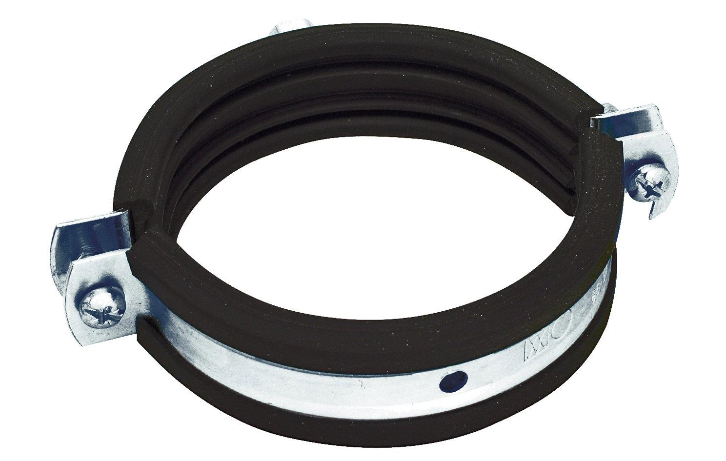 Airone Хомут с резиновым профилем для воздуховода D 125 мм