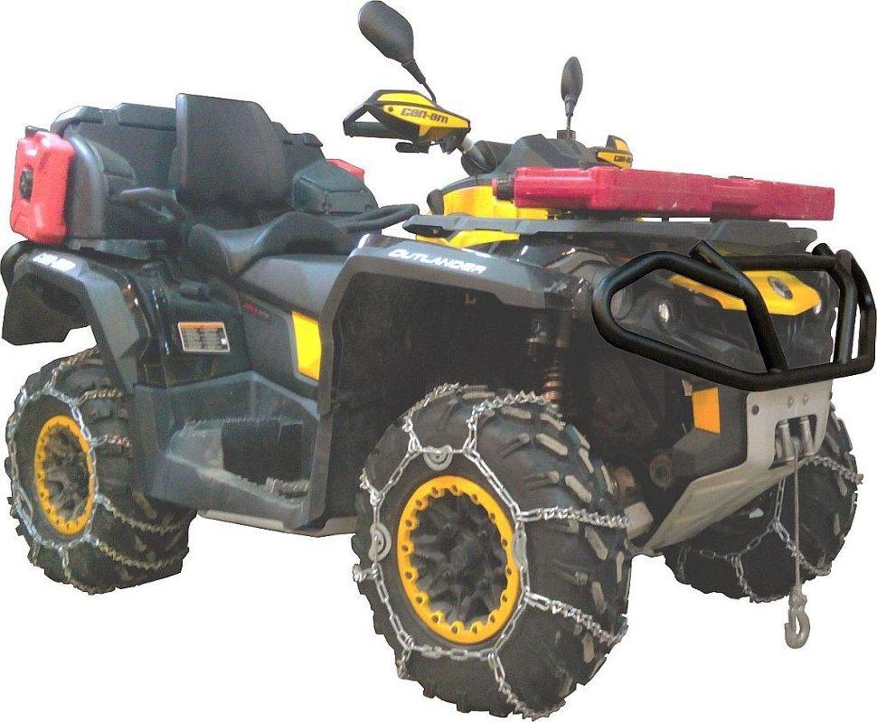 Мебек Бампер для квадроцикла BRP OUTLANDER 1000 XT, BRP Outlander 500 G2 передний